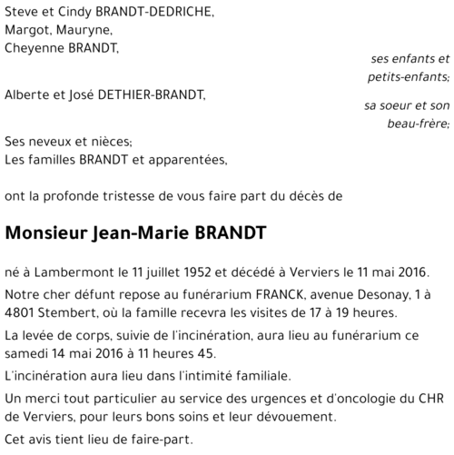 Marie Brandt